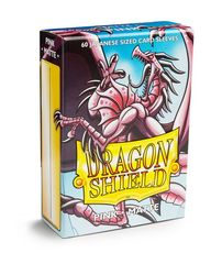 Dragon Shield Matte Japanese Mini-Size Sleeves - Pink - 60ct
