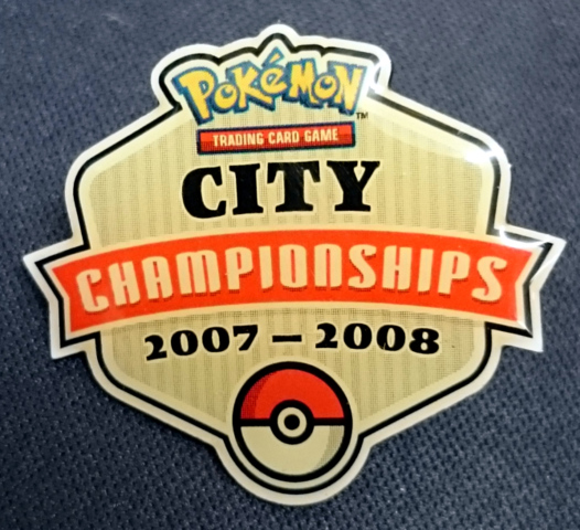Pokemon TCG City Championships 2007-2008 Pin