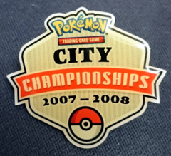 Pokemon TCG City Championships 2007-2008 Pin