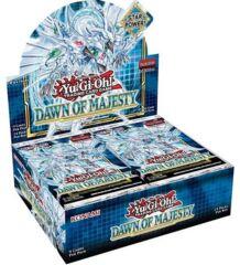 Yu-Gi-Oh Dawn of Majesty 1st Edition Booster Box