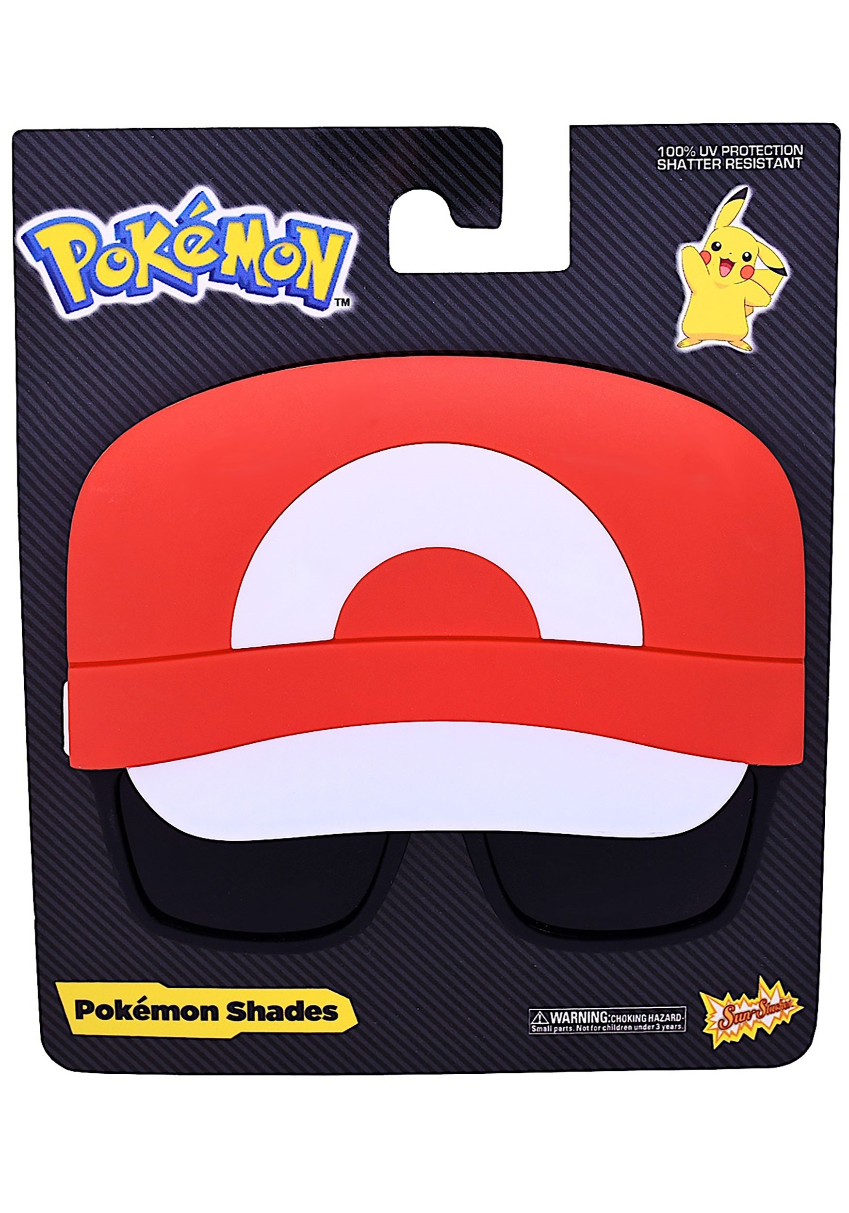 Ash Ketchum Sun-Staches Sunglasses - Pokemon Card Singles