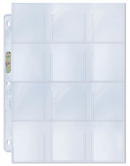 12-Pocket Card Sheets Box of 100