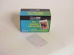 Tall Semi-Rigid Card Holders Box of 200