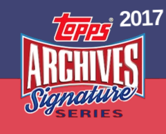 2017 Topps Archival Signature Series Baseball Hobby Box