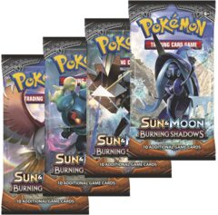 Pokemon SM3 Burning Shadows 36ct Booster Pack Lot