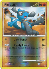 Riolu - 91/127 - Common - Reverse Holo