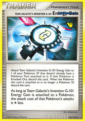 Team Galactic's Invention G-101 Energy Gain - 116/127 - Uncommon
