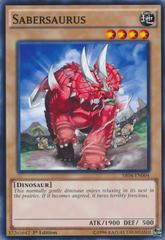 Sabersaurus - SR04-EN004 - Common - 1st Edition