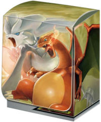 Japanese Pokemon SM10 Charizard & Reshiram Deck Box