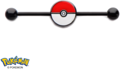 Pokeball 14-Gauge 1 3/8