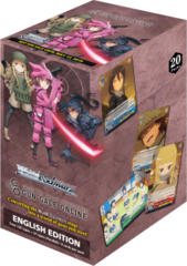 Weiss Schwarz SAO Alternative: Gun Gale Online Booster Box