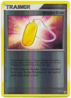 Amulet Coin - 97/106 - Uncommon - Reverse Holo
