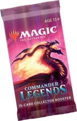 MTG Commander Legends COLLECTOR Booster Pack