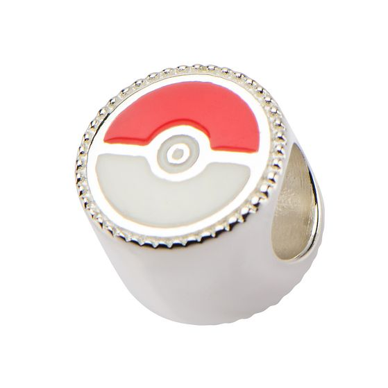 Squirtle & Pokeball Sterling Silver Bead Charm