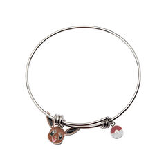 Eevee Stainless Steel Expandable Bangle Bracelet