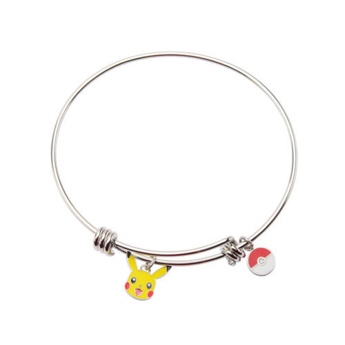 Pikachu Stainless Steel Expandable Bangle Bracelet