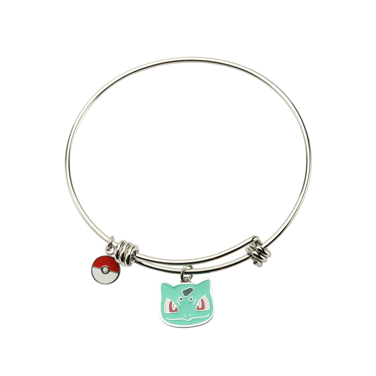 Bulbasaur Stainless Steel Expandable Bangle Bracelet