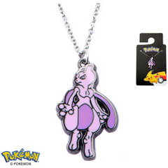 Mewtwo Enamel Pendant Necklace