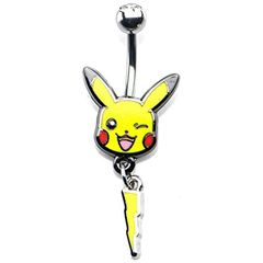 Pikachu & Lightning Bolt 14-Gauge 7/16