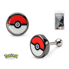 Pokeball 18g 316L Cartilage Earring