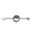 Great Ball 14-Gauge 1 3/8 Industrial Barbell