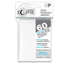 Ultra Pro Small Size PRO-Matte Eclipse Sleeves - Arctic White - 60ct