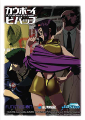 Dragon Shield Classic Art Standard-Size Sleeves - Cowboy Bebop Faye - 100ct