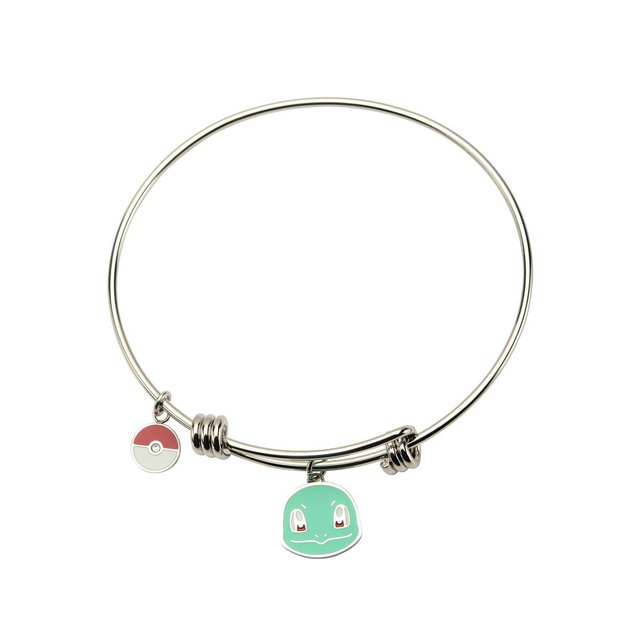 Squirtle Stainless Steel Expandable Bangle Bracelet
