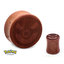 Great Ball Wood Ear Plug - 7/8