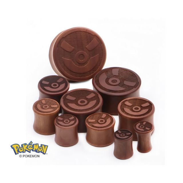 Great Ball Wood Ear Plug - 00-Gauge
