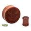 Great Ball Wood Ear Plug - 0-Gauge