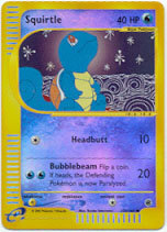 Squirtle - 132/165 - Common - Reverse Holo