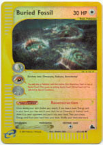 Buried Fossil - 47/144 - Common - Reverse Holo