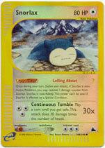 Snorlax - 100/144 - Common - Reverse Holo