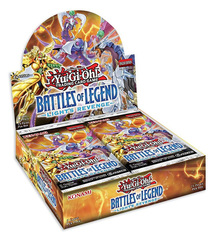 Yu-Gi-Oh Battles of Legend: Light's Revenge Booster Box