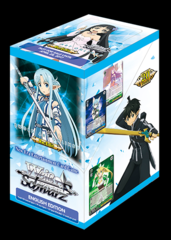 Weiss Schwarz Sword Art Online Re: Edit Booster Box