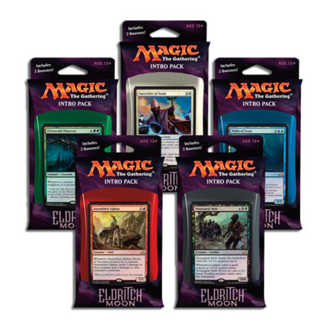 MTG Eldritch Moon Set of 5 Intro Packs
