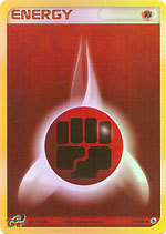 Fighting Energy 105/109 - Common - Reverse Holo