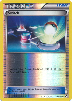 Switch - 104/114 - Common - Reverse Holo