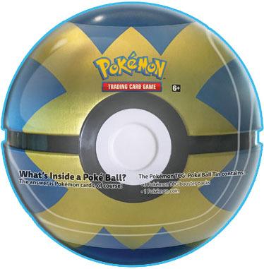 2018 Pokemon Quick Ball Tin