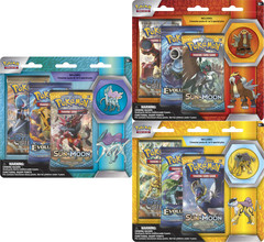 Pokemon Legendary Beasts Blister Packs: Set of 3