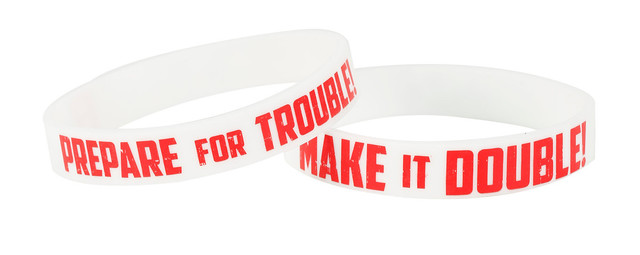 Team Rocket Double Trouble Rubber Bracelet 2-Pack