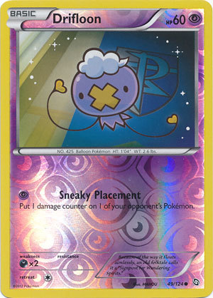 Drifloon - 49/124 - Common - Reverse Holo