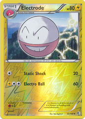 Electrode - 52/149 - Uncommon - Reverse Holo