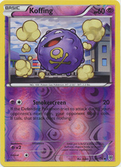 Koffing - 57/135 - Uncommon - Reverse Holo