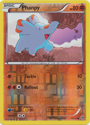 71//135 Common NM-Mint English Pokemon Phanpy