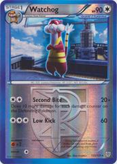 Reverse Holo Foil Watchog # 113//135 BW Plasma Storm Set Pokemon Cards Rare NM