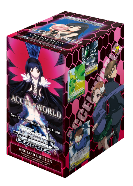 Weiss Schwarz Accel World Booster Box