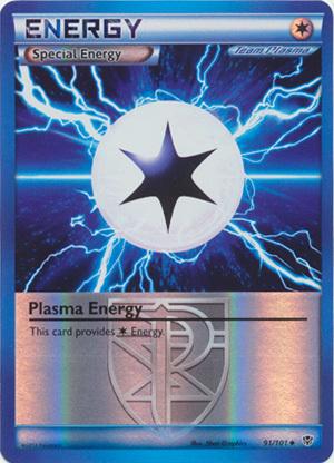 Plasma Energy - 91/101 - Uncommon - Reverse Holo