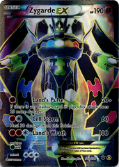 Zygarde EX 54a/124 Full-Art Promo - Mega Powers Collection Exclusive